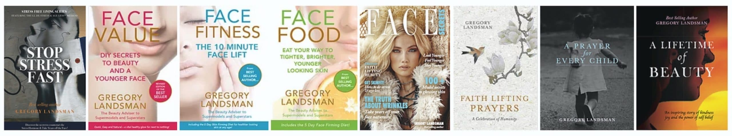 Gregory Landsman books to look younger and feel good in your skin